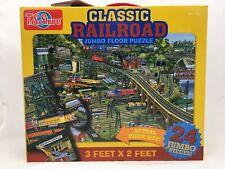 T. S. Shure Classic Railroad Jumbo Floor Puzzle
