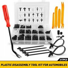 317PCS For TOYOTA Fender Door Hood Bumper Trim Clips Body Retainer Kit&Tool EAD