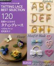 Tatting Lace Best Selection 120 - Japanese Craft Book