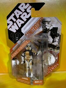 "Star Wars - 30th Anniversary - Sandtrooper II (""Dirty"" Squad Leader - body #1)"