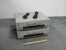 Lot of 2 Sony DSR-30 Professional DVCAM Digital Videotape Recorder w/ Cords