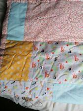 Hand Made Patchwork Cot Bed Junior Duvet
