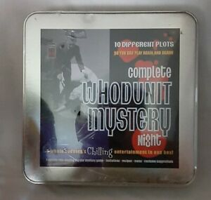 COMPLETE WHODUNIT MYSTERY NIGHT  10 DIFFERENT PLOTS  ROLE PLAYING FULLY SEALED