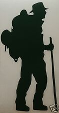 WALKER/BACKPACKER logo Sticker/Decal  Hiking/Walking/Mountaineering