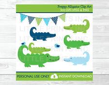 Preppy Alligator Clipart