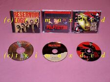 3x colonna sonora Q. Tarantino _ Pulp Fiction & Reservoir Dogs & from Dusk till Dawn