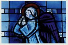Ansichtskarte Postkarte Motiv Engel Fenster Kirche Quilinen Bretagne   (Nr. 26)