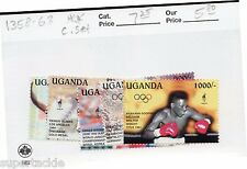 1996 Uganda Africa ** MNH Olympic postage stamp set.