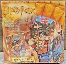 RARE HARRY POTTER 300 peice Mystery Jigsaw Puzzle 46x61cm Mattel 2000 Leaflet