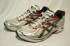 ASICS T905N GT2140 RUNNING SHOES MEN'S 12.5 2E WHITE GRAY RED *NO INSOLES*