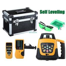 500m Range Automatic Laser Level Rotary Rotating Self Leveling Green Beam