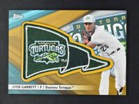 2016 Topps Pro Debut Pennant Patches Gold #PPAG Amir Garrett Patch /50
