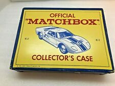 OFFICIAL MATCHBOX COLLECTORS CASE NO.41 1966 LESNEY PRODUCTS 48 CAR HOLDER