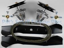 """Cub Cadet 46"""" Lawn Mower Spindle, Hi Lift Blade Belt w/hdwr kit, LTX1045 LTX1046"""