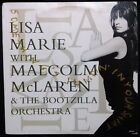 """LISA MARIE WITH MALCOLM MCLAREN - SOMETHING'S JUMPIN' IN YOUR SHIRT 12"""" AUST"""