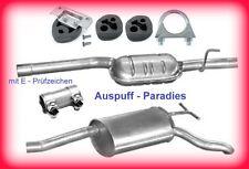 Abgasanlage Auspuff Mercedes Benz W210 E 200 (210.035) & E 230 (210.037) + Kit