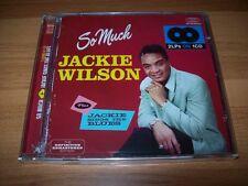 CD-JACKIE WILSON-SO MUCH PLUS JACKIE SINGS THE BLUES-HOODOO 2014 NUOVO SIGILLATO