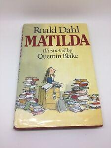 Matilda by Roald Dahl RARE Hardback 1988 Edition