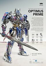 CC-OP: Comicave 1/22 Scale Transformers Optimus Prime 50% Diecast Metal Figure