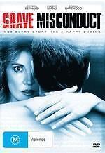 GRAVE MISCONDUCT - CRYSTAL BERNARD VINCENT SPANO THRILLER NEW DVD MOVIE SEALED