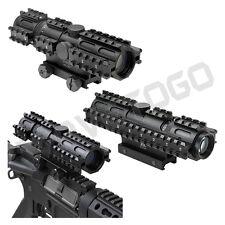 NcSTAR Tactical 223 5.56 2-7X32 Tri-Rail System Mount Scope Rifle Rangefinder