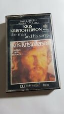 Kris Kristofferson - The man and His songs (Monument, 1981) Cassette