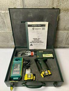 Greenlee ESG50GL Gator Hydraulic High Speed Battery Cable Cutter Works Good