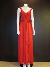 CAROLINA HERRERA silk Fit & Flare Gown maxi Dress - US Size 4