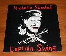 Michelle Shocked Captain Swing Poster 2-Sided Flat Square 1989 Promo 12x12