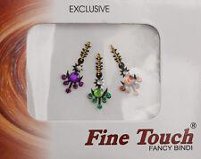 Bindi bijou de peau front bollywood multicolore dot tilak IND-R 1381