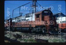 Original Slide IC Illinois Central Rare ALCO C636 1102 Paducah KY 1972
