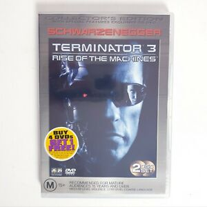 Terminator 3 Rise of the Machines DVD Movie Region 4 Free Postage - Scifi Action
