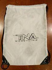 """TNA Impact Wrestling Drawstring Bag Storage Carrying Shoulder Backpack 18x13"""""""