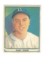 1941 PLAY BALL # 52 KIRBY HIGBE DODGERS - NO CREASES - CHECK SCANS