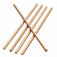 5Pcs Solid Round Copper Bar 3mm Diameter x 100mm Length Metal Bar / Rod