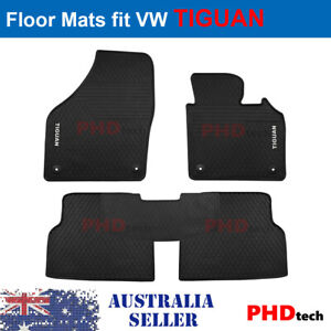 Prime Quality Rubber All Weather Car Floor Mats fit VW Tiguan 2007-2017 5N