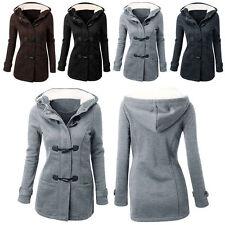 2017 Fashion Winter Warm Woman Ladies Hooded Trench Coat Jacket Overcoat parka