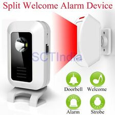Infrared Motion Sensor Detector Wireless Alert System home security anti theft