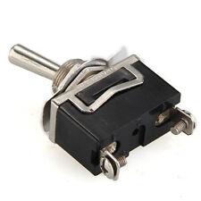 5 X Heavy Duty Toggle Flick Switch 12V ON/OFF Car Dash Light Metal SPST  Volt