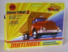 Repro Box Matchbox SuperKings K-19 Scammel Tipper Truck