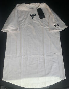 Under Armour Project Rock Charged Shirt 1351524-110 Size Small