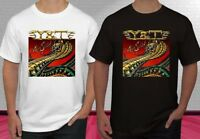 Y&T - AMERICAN HARD ROCK/HEAVY METAL BAND Black White Men's T-shirt S-2XL