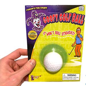 Goofy Unputtable Golf Ball ~ Moving Wiggling Wobble  ~ Gag Prank Trick Joke Toy