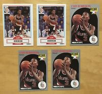 Cliff Robinson Rookies (5) Basketball Cards