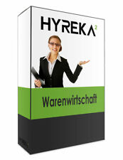 Hyreka Warenwirtschaft   Lagerverwaltung mit Einrichtungsservice - Vollversion