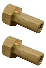 2 Pack of Pentair 194997 Swimming Pool Spa Fns Quad Filter Tank Machined Nut
