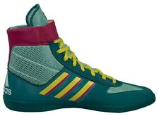 Adidas Men's Combat Speed .5 Wrestling Mat Shoe Ankle Strap Aqua/Pink