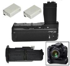 Pro Vertical Battery Grip Fr Canon EOS 550D 600D 700DT2i + 2 x LP-E8 DSLR Camera