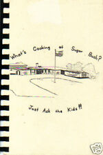 NEW LONDON WI 1991 COOK BOOK * WHAT'S COOKING AT * SUGAR BUSH ELEMENTARY SCHOOL