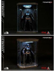 TOYS-BOX  1/12 SHFBatman Hall of Armor Acrylic Box Display Case Model Toy